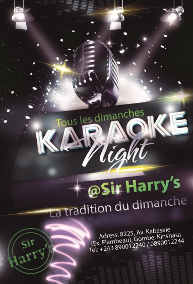 karaoke night -Sir Harrys - Final - resized